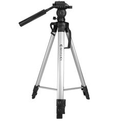 "BARSKA Deluxe Tripod Extendable to 63.4"" w/ Carrying Case"