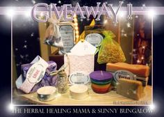 Enter to #win an All Natural Sunny Bungalow & The Herbal Healing Mama Prize Pack (Ends 9/1)