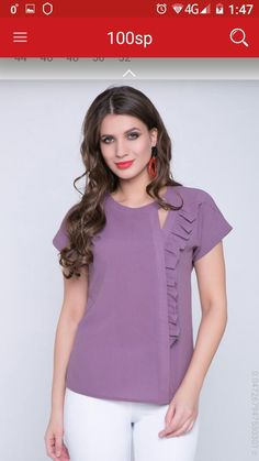 - Looks are Everything Sleeves Designs For Dresses, Dress Neck Designs, Kurta Designs, Blouse Designs, Fashion Wear, Fashion Dresses, Sewing Blouses, Blouse Models, Girl Dress Patterns