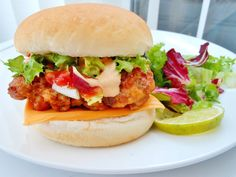 tandoori chicken burger - Google Search