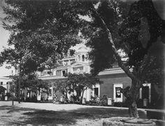 Fachada principal cárcel de La Princesa (1898-1917), San Juan. Tomado de  Puerto Rico Historic Building Drawings Society