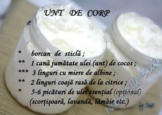 Unt de corp Daily Beauty, Soap Recipes, Good To Know, Health And Beauty, Health Tips, Herbalism, Beauty Hacks, Healthy Recipes, Homemade