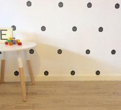 Lego Heads Removable vinyl wall decals. Interior design • kids rooms • nursery • girls rooms • boys rooms Lego Head, Removable Vinyl Wall Decals, Girl Nursery, Big Boys, Kids Rooms, Girl Room, Playroom, Interior Design, Girls