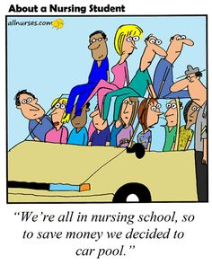 Cartoon: Nursing school getting expensive - About A Nursing Student - Nursing Cartoon Series