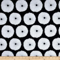 Art Gallery Lagom Canvas Buoyancy Opposted from @fabricdotcom  Designed by the AGF Studio for Art Gallery Fabrics, this canvas print is perfect for heavier skirts, jackets, handbags, and home decor accents. Colors include black, white, and grey.