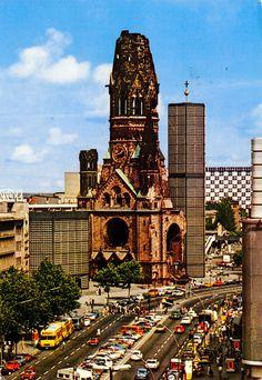West Berlin, Berlin Wall, Ford Capri, Kaiser Wilhelm, Kirchen, Berlin Germany, Empire State Building, The Past, History