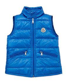 Moncler Puffer Vest #goopget