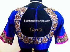 blouse patterns for pattu sarees