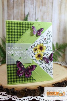 Stamp Tv Kit Friday Funday Tutorial! :) Flowers & Butterflies