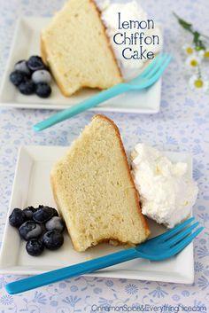Lemon Glow Chiffon Cake {Happy Birthday Baking Partners}