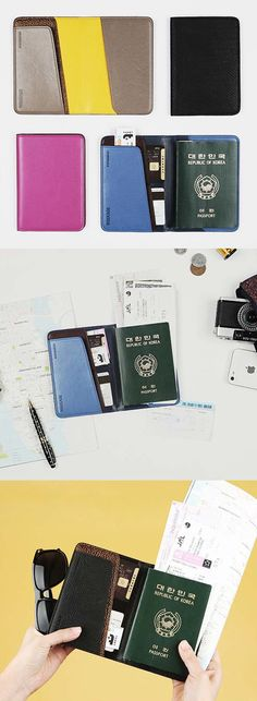 Need to go travel anywhere? Don't forget to be fully protected with this anti-skimming passport case!