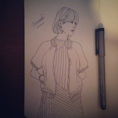 Fashion Sketch #001