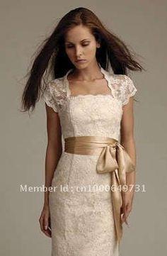 champagne lace bridesmaid - sash colour??