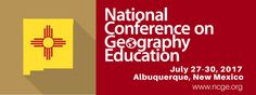 Deadline to submit a proposal for the 2017 National Conference on Geography Education is 3/3/17!
