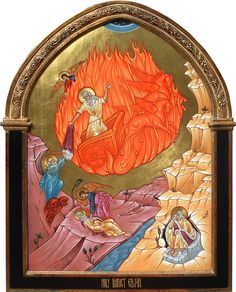 Holy Prophet Elijah | This icon of the Holy Prophet Elijah i… | Flickr