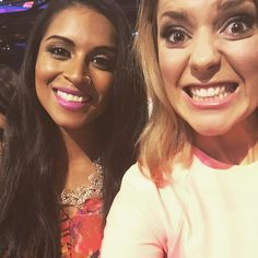 """Grace Helbig on Instagram: """"Practicing being pretty with @iisuperwomanii at the #tcas."""""""