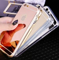 Cheap case for iphone, Buy Quality phone cases directly from China case for iphone 5 Suppliers: Mirror Makeup Phone Case For iphone 5 se 6 plus shockproof cover soft silicone protect case for iphone 7 plus coque fundas Iphone 5s Covers, Iphone Phone Cases, Iphone 4, Coque Iphone 7 Plus, Iphone 8 Plus, Apple Iphone 6, Capas Iphone 6, Telephone Iphone, Coque Ipad