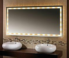 Badspiegel Mit Beleuchtung | Halogen Spiegel Flafor Http Www Badspiegel Org Badspiegel