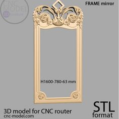 Cnc Router, 3d Printing, Frames, Interior Design, Mirror, Home Decor, Cnc Milling Machine, Impression 3d, Nest Design