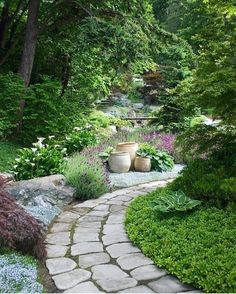 Do you love gardening but have a small backyard available? Well, with the best gardening ideas for a small space, you can find the best way to make your garden beautiful. Whether you're using a windowsill or a small backyard, these gardening ideas will. Beautiful Home Gardens, Amazing Gardens, Path Design, Design Ideas, Backyard Projects, Backyard Ideas, Garden Projects, Rustic Backyard, Large Backyard