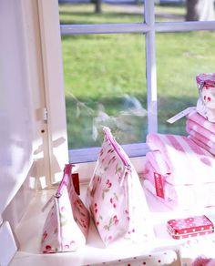 Cherry Kosmetiktaschen in pale pink von Greengate