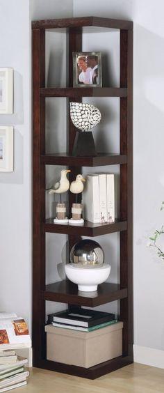 Contemporary Corner Shelf 15 modern floating shelves design ideas - rilane - we aspire to
