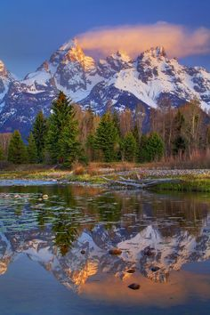 Grand Teton National Park, WY. This is where we are going on vacation next year. Cant wait!