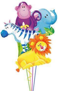 Safari Birthday Party Ideas: balloons