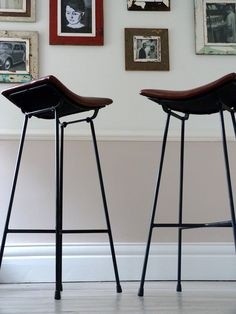 wood and metal industrial counter stools h o m e y
