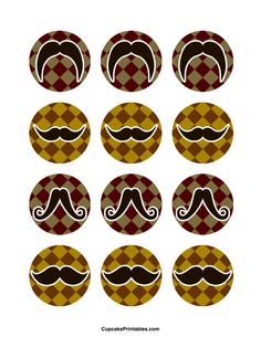 Use the circles for cupcakes, party favor tags, and… Moustache Cupcakes, Mustache Party, Party Favor Tags, Party Favors, Cupcake Toppers, Cupcake Cakes, Beer Mug Cake, Tie Gift Box, Stick Christmas Tree