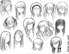 looks abit like anime hair ;)