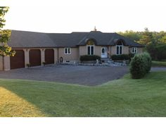 1253 TAPLEY QUARTER LN - Sprawling 4+1 bedroom bungalow, attached triple car garage with access to lower level, on a 5 acres lot. CALL DEVO