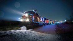 Le Train des Fêtes du Canadien Pacifique arrive en ville