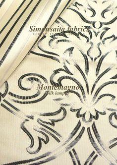 Montemagno Collection Silk Lampas