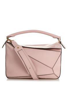 Loewe Leather Puzzle medium bag   Available at MATCHESFASHION.COM
