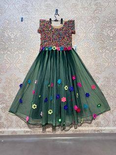 Order #HK1211 Nylon NET GOWN₹1655 on WhatsApp number +919619659727 or ArtistryC.in Net Gowns, Kids Gown, Girls Wear, Lehenga Choli, Boy Or Girl, Pajamas, Number, Summer Dresses, Boys
