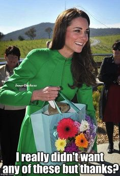 The Inner Duchess of Kate Middleton, Royals must remain gracious