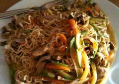 Japchae, Drink, Ethnic Recipes, Food, Beverage, Essen, Meals, Yemek, Eten