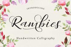 Rambies - Handwritten Calligraphy - Script