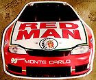 RED MAN CHEW METAL SIGN 1999 Nascar - http://oddauctions.net/tobacciana/red-man-chew-metal-sign-1999-nascar/