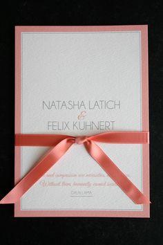 hochzeit einladungskarte in peach und ivory wedding invitation in peach and ivory