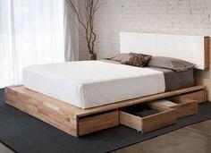 cama com gaveteiro organização quarto casal