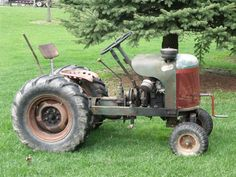 Garden All SJR Tractor Yard Tractors, Small Tractors, Vintage Farm, Old Antiques, Lawn And Garden, Lawn Mower, Bicycle, Trucks, Cars