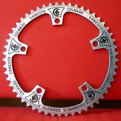 "Chainring ""Ernesto Colnago"" posted: 2012/04/03 categories: Colnago components, Corona / Chainring"