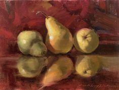 Brenda Sumpter Artworks Gallery Pears, Fruit, Gallery, Apples, Artworks, Roof Rack, Pear, Apple, Art Pieces