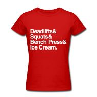 Deadlifts & Squats & Bench Press & Ice Cream. Made by a Fitocrat!