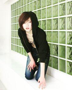 #portrait #portraitphotography #japanese #model #japan #shorthair #ショートヘア  #love #happy #fashion #photooftheday #asia by 618_karin via Instagram w/ifttt