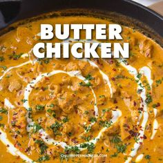 Indian Vegetarian Recipes 772648879806025988 - Rich and Creamy Butter Chicken. This Indian Curry, also known as Murch Makhani, is so smooth it's almost buttery. Spice up your Weeknight Dinners with this curry that is sure to satisfy. Spicy Recipes, Indian Food Recipes, Asian Recipes, Vegetarian Recipes, Cooking Recipes, Healthy Recipes, Non Spicy Curry Recipe, Chili Recipes, Vegan Vegetarian