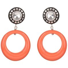 julie sion - Coral Pop Earrings ($70) ❤ liked on Polyvore featuring jewelry, earrings, cabochon jewelry, earrings jewellery, earring jewelry, coral jewelry and coral jewellery