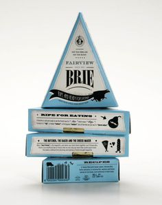 Let's brie honest - there's nothing grater than cheese. And as packaging experts, we get extra excited when we see cheese that doesn't just taste amazing, but also looks amazing. Dairy Packaging, Cheese Packaging, Brand Packaging, Graphic Design Letters, Lettering Design, Fromage Cheese, Camembert Cheese, Cheese Maker, Best Cheese